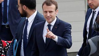 """Macron a """"des preuves que des armes chimiques ont été utilisées par le régime"""" syrien"""