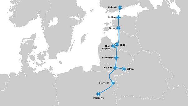 Rail Baltica: how Brexit is casting doubt over €5.8bn Estonia-Poland train line