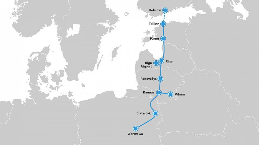 Rail Baltica: how Brexit is casting doubt over €5.8bn Estonia-Poland train line