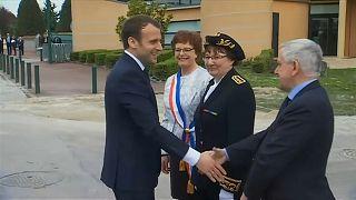 Macron diz ter provas de ataque químico na Síria