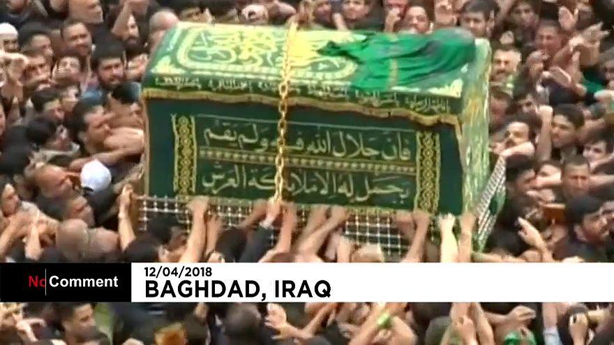 Ирак: церемония в память об имаме Мусе аль-Казиме
