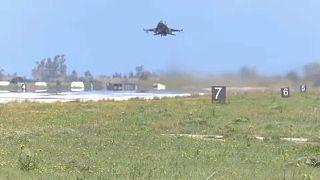Lezuhant egy görög harci gép