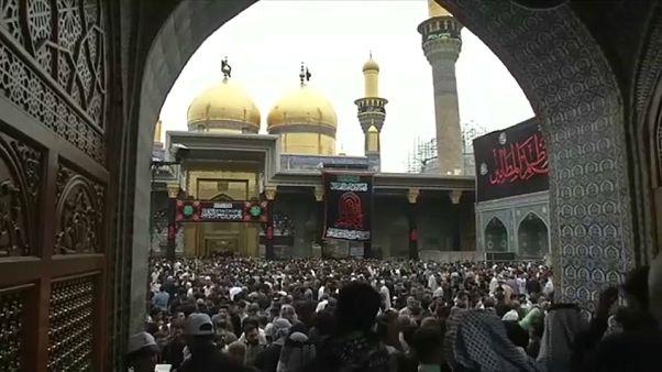 الشيعة يحيون ذكرى وفاة الإمام موسى الكاظم في بغداد