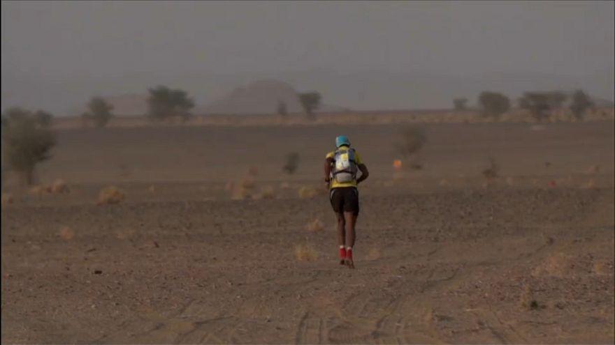 """Песчаный марафон"": марокканцы впереди"