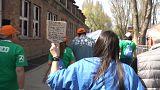 """""""Марш живых"""" в Освенциме"""