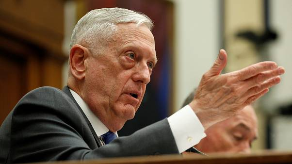 Defense Secretary James Mattis appears before Congress