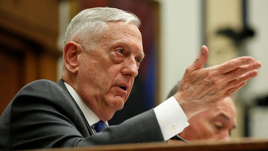 Defense Secretary James Mattis appears before Congress