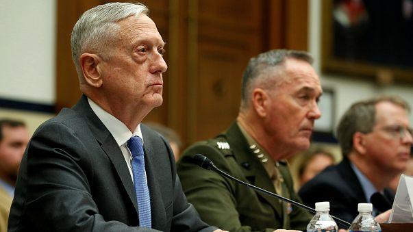 Mattis: Suriye'ye askeri saldırı düzenleme konusunda henüz karar almadık
