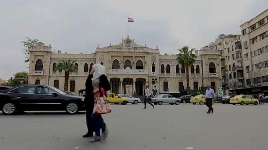 Εικόνες ηρεμίας στη Δαμασκό
