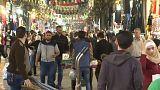La vida sigue en Damasco pese a las amenazas de ataque inminente