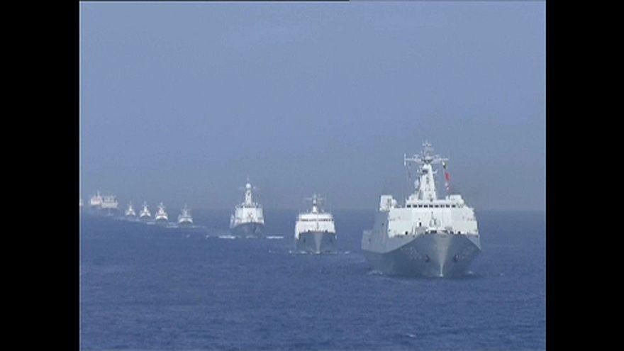 Kína megmutatta Tajvannak, hogy a tengeren is ő az úr