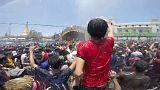 شاهد: مهرجان المياه في ميانمار للاحتفال بالعام الجديد