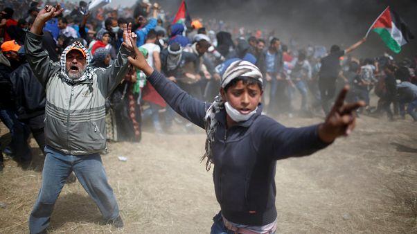 مواجهات في غزة