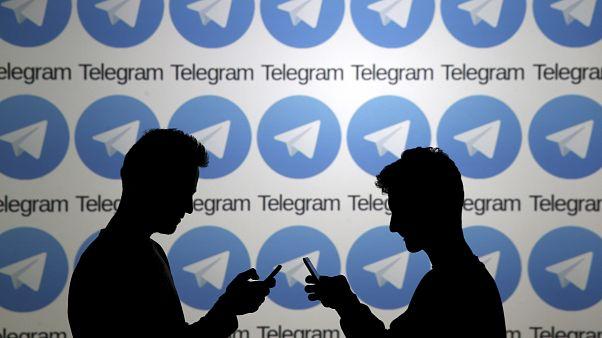 Messaging app Telegram is popular in Russia