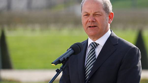 Ο υπουργός Οικονομικών της Γερμανίας Όλαφ Σολτς