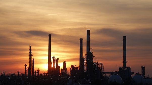 Raffinerie Total à Grandpuits, France