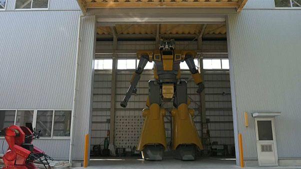 Γιγάντιο ρομπότ προς ενοικίαση