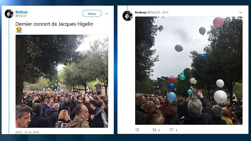 Jacques Higelin: Letztes Konzert auf dem Friedhof Père Lachaise