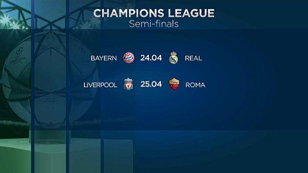 Bayern-Real rangadó a BL elődöntőjében