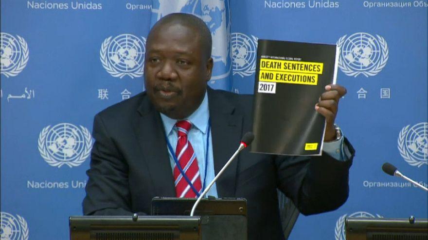 Moins d'exécutions capitales en 2017 selon Amnesty International