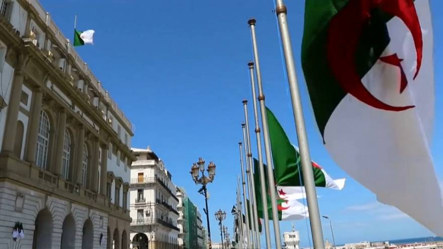 Algerian flags fly half-mast as the country mourns the plane disaster
