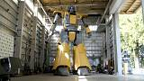 Un robot humanoide emula a Mazinger Z