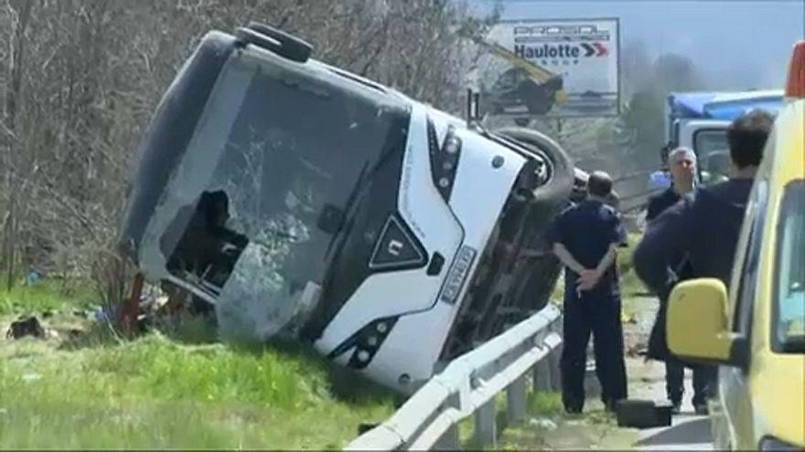 Halálos buszbaleset Bulgáriában