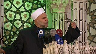 شاهد بالفيديو إمام المسجد الأموي: لا نخاف التهديد الأمريكي نحن أسود هذا الوطن