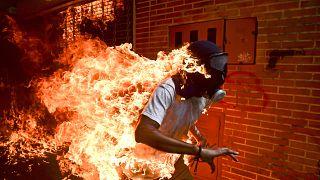 شاهد أفضل صور الصحافة العالمية لعام 2018