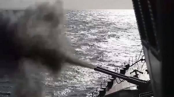 Kalte Krieger im Eis - Raketenkreuzer übt im Nordpolarmeer