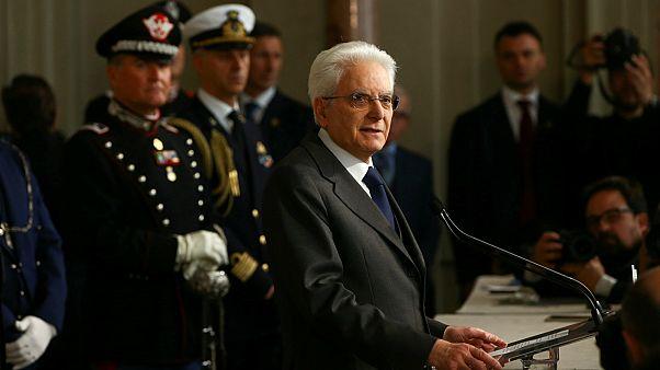 Mattarella fordert rasche Regierungsbildung
