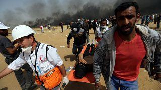 Au moins un mort et 30 blessés à Gaza