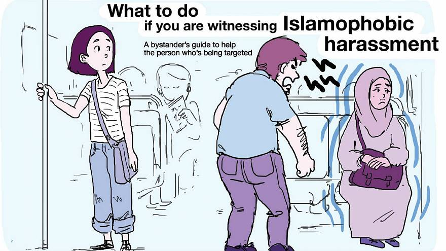 Here's what you should do if you see Islamophobia, says Parisian artist