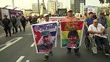 Cumbre de las Américas de Lima: manifestaciones de todos los signos marcan la primera jornada