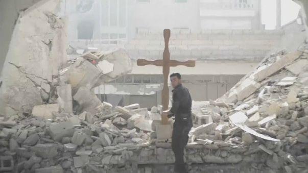 Cristianos sirios en el exilio ante el caos de la guerra