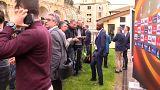 Europa League - Eric Abidal in Lyon