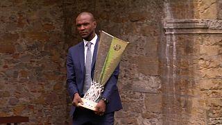 Troféu da Liga Europa já está em Lyon
