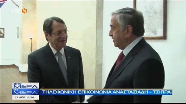 Kıbrıslı liderler akşam yemeğinde birleşmeyi değerlendirecek