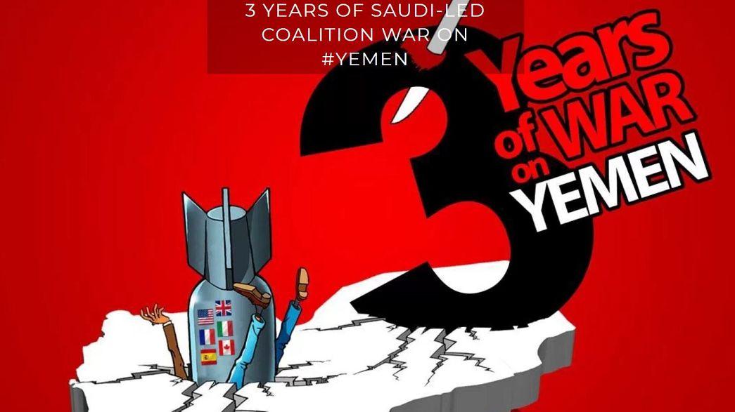Υεμένη: Κραυγή αγωνίας μέσω καρτούν