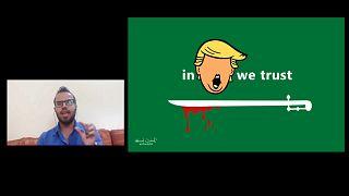 Yemen'deki savaşa karikatürleriyle direniyor