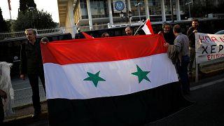 Αντιπολεμικό συλλαλητήριο για τη Συρία στην Αθήνα