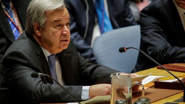"""Syrienkonflikt: Guterres warnt vor """"Chaos im Nahen Osten"""""""