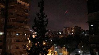 شهود: إصابة مبنى الأبحاث العلمية بمنطقة برزة بدمشق