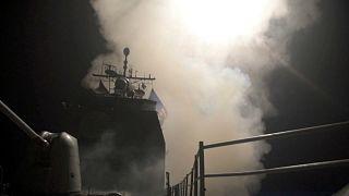 Pentagon: Suriye'de tüm hedefler başarıyla vuruldu