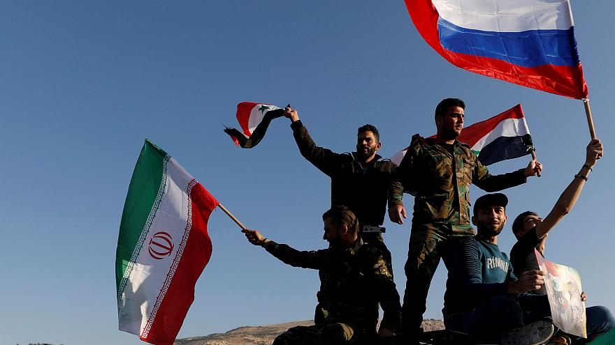 مظاهرات داعمة للأسد في دمشق