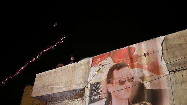 Βίντεο με τον Μπασάρ Αλ Άσαντ να φτάνει στο γραφείο του μετά την επιδρομή