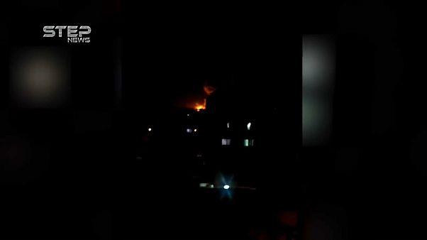 Ракетный удар по НИИ в Дамаске