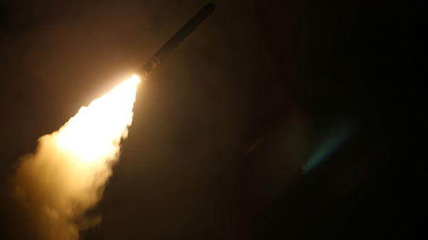 Représailles aéronavales contre Damas