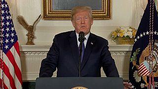 """Síria: Donald Trump fala de """"missão cumprida"""""""