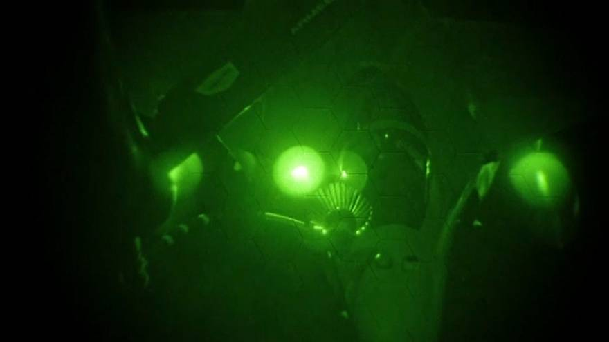 Видео французских истребителей в ходе операции в Сирии